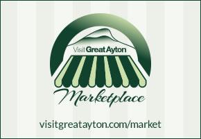 Visit Great Ayton Marketplace campaign