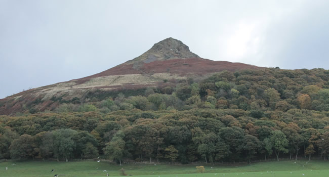 Roseberry Topping from the A173