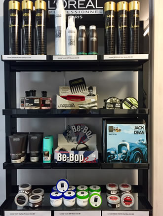 Ayton Barber Beauty Products in-store Great Ayton