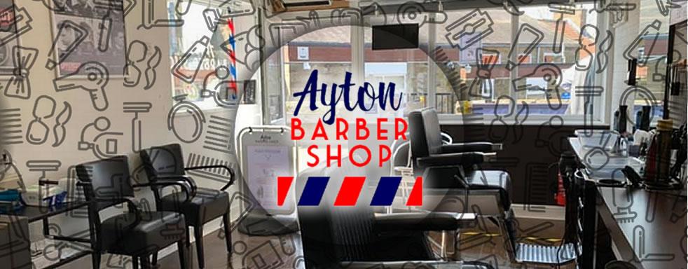 Ayton Barber Shop in Great Ayton