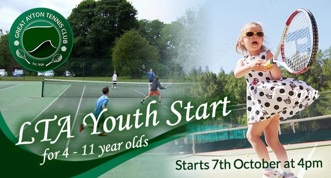 Great Ayton Tennis Club LTA Youth Start