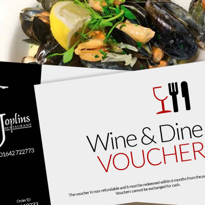 Wine & Dine Voucher on Great Ayton Marketplace