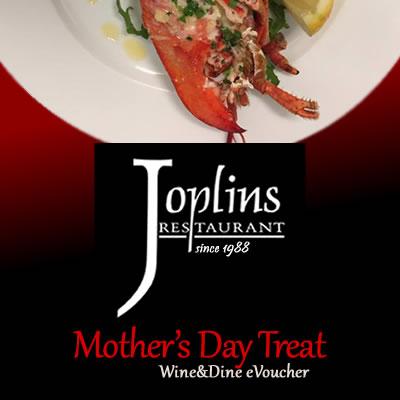 Mother's Day Treat - Wine & Dine eVoucher
