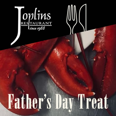 Father's Day Treat at Joplins