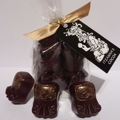 Luxury Bolivian Dark Chocolate Truffles (bag) on Great Ayton Marketplace