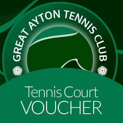Tennis Court Voucher on Great Ayton Marketplace