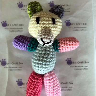 Crochet Bear Small