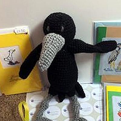 Crochet Raven