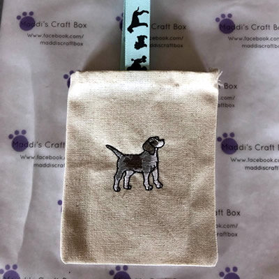 Little Beagle Dog Bag