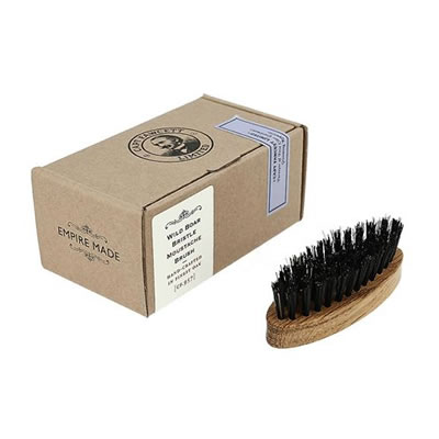 Captain Fawcett's Wild Boar Bristle Moustache Brush