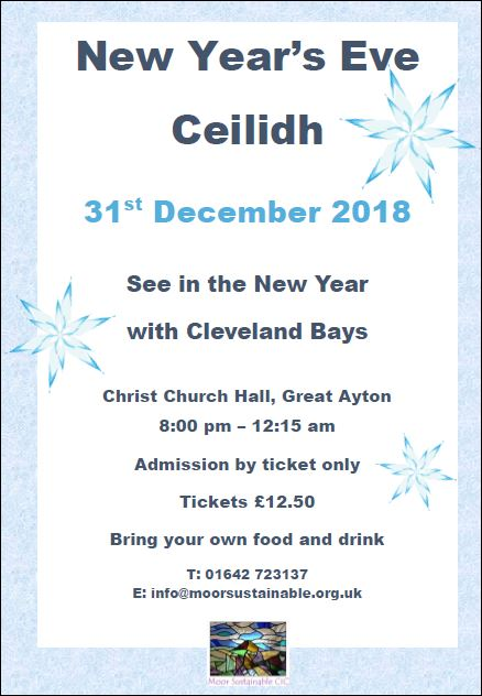 New Year Ceilidh Poster