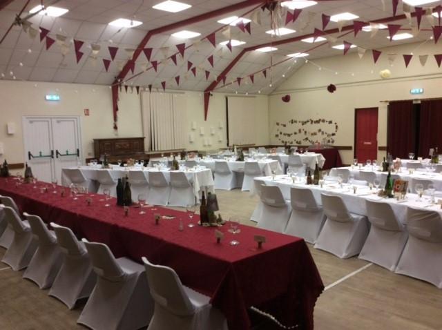 Christ Church Hall Wedding Reception