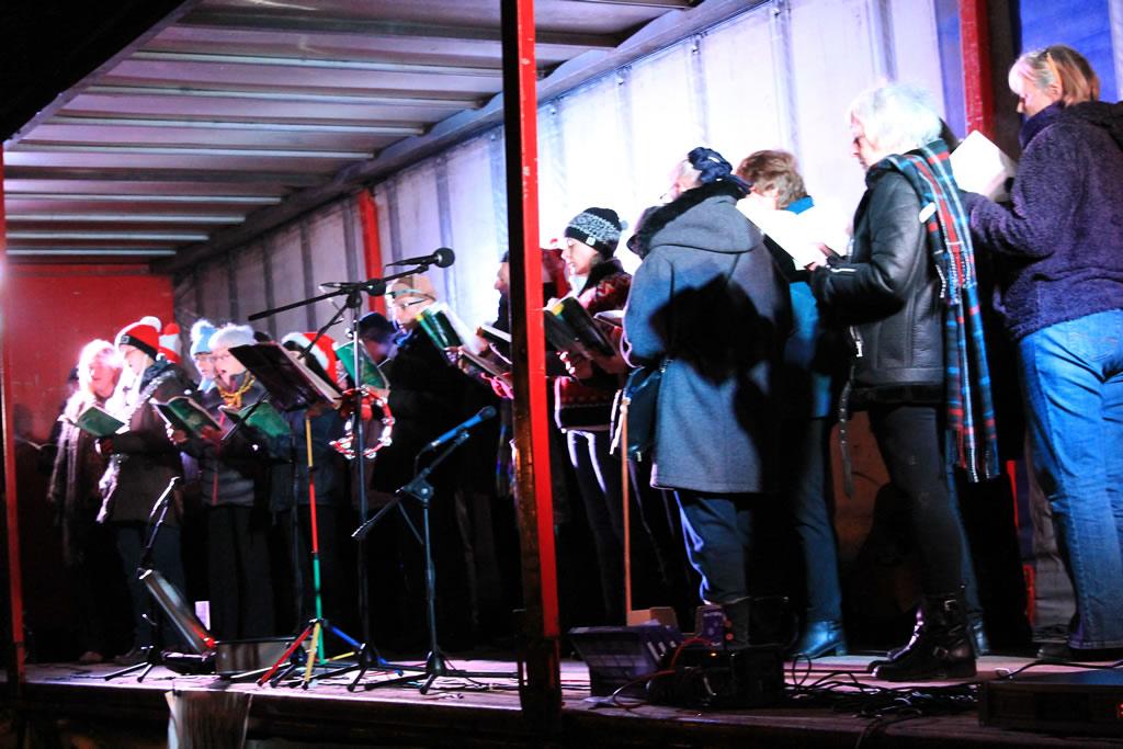Angrove Singers Great Ayton Christmas Fayre 2017