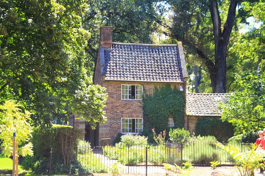 Cook Cottage Fitzroy gardens Melbourne