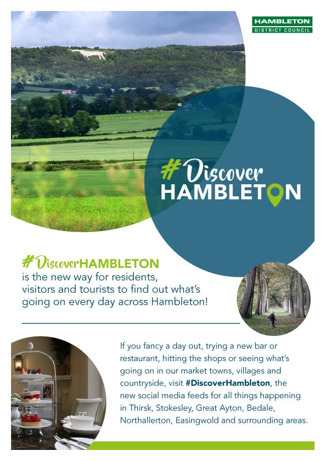 discover hambleton promo poster visitors