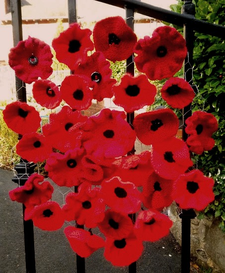 Poppy Wreath at Great Ayton Methodist Church