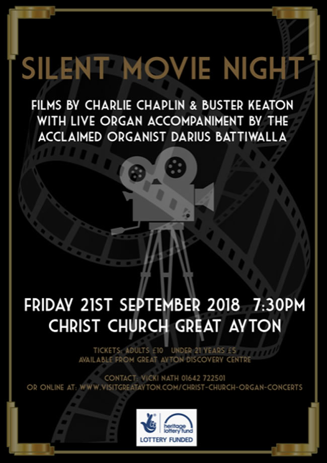Christ Church Great Ayton Silent Movie Night