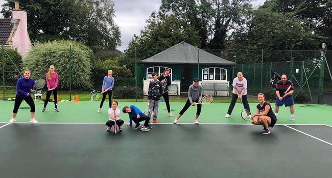 Cardio Tennis at Great Ayton Tennis Club