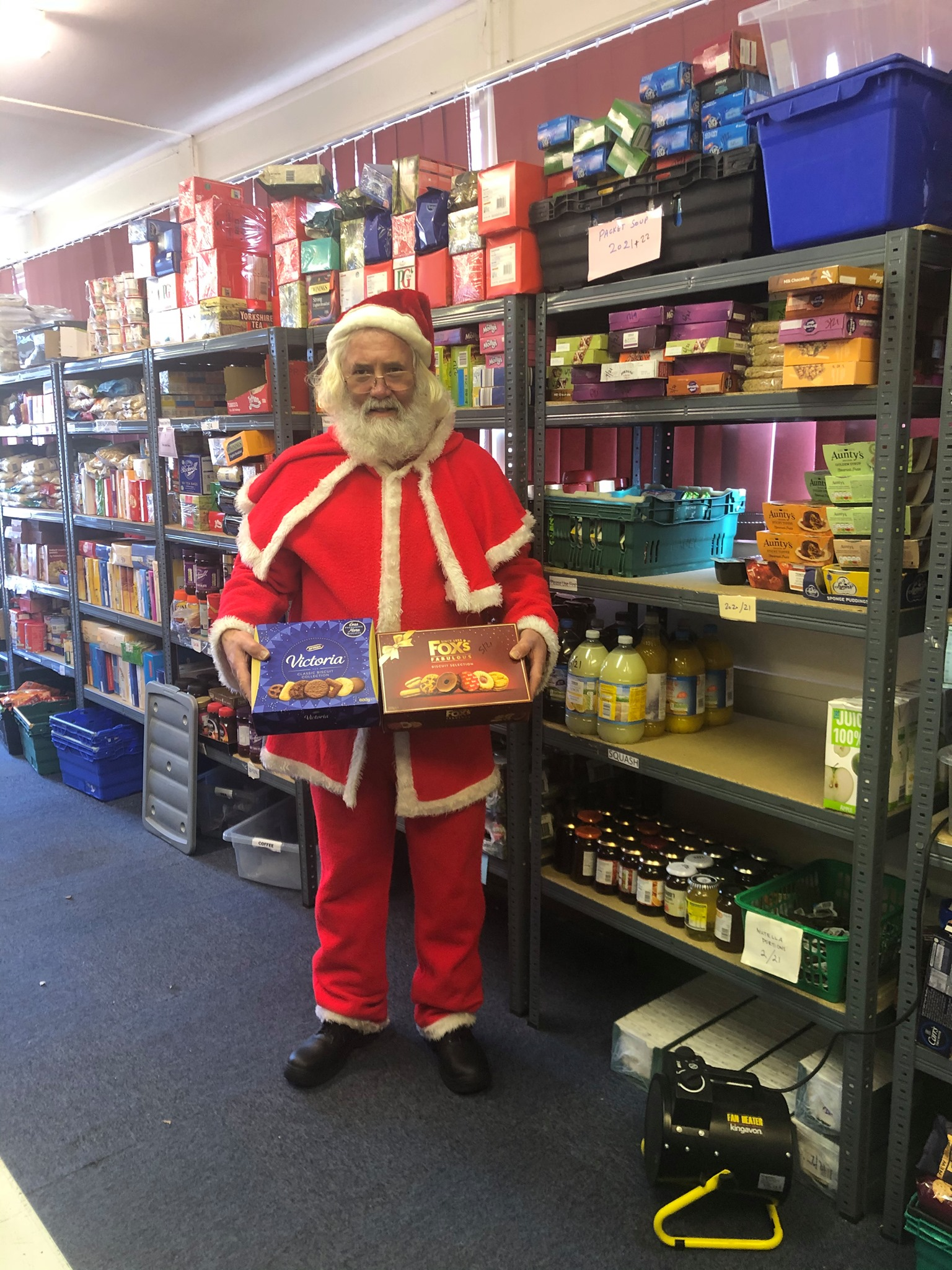 Festive Hambleton FoodShare helper