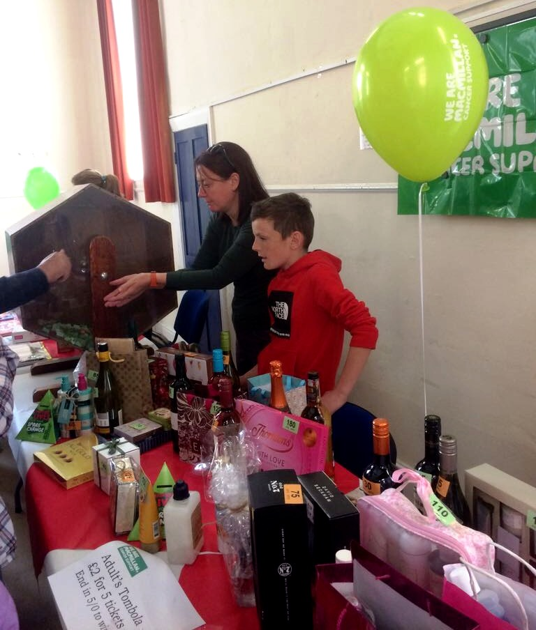 Macmillan Coffee Morning Tombola